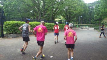 2019/05/29の颯走塾水曜マラソン練習会in織田フィールド7