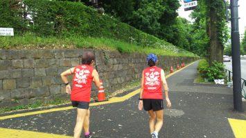 2019/06/05の颯走塾水曜マラソン練習会2
