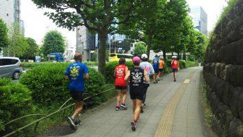 2019/06/05の颯走塾水曜マラソン練習会1