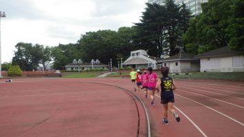 2019/06/12の颯走塾水曜マラソン練習会in織田フィールド4