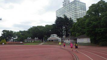 2019/06/12の颯走塾水曜マラソン練習会in織田フィールド6