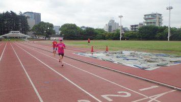 2019/06/12の颯走塾水曜マラソン練習会in織田フィールド7