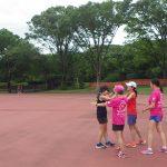 2019/06/12の颯走塾水曜マラソン練習会in織田フィールド8