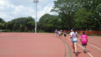 2019/06/19の颯走塾水曜マラソン練習会in織田フィールド2