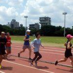 2019/06/19の颯走塾水曜マラソン練習会in織田フィールド6