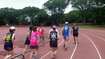 2019/06/19の颯走塾水曜マラソン練習会in織田フィールド7