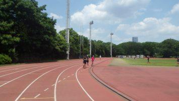 2019/06/19の颯走塾水曜マラソン練習会in織田フィールド8