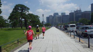 2019/06/26の颯走塾水曜マラソン練習会in皇居3