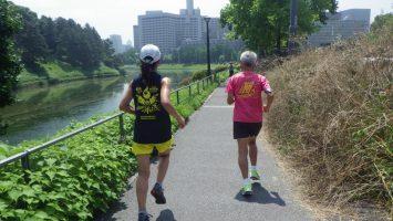 2019/06/26の颯走塾水曜マラソン練習会in皇居5