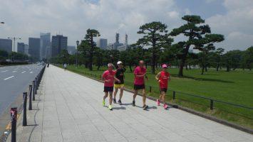 2019/06/26の颯走塾水曜マラソン練習会in皇居6