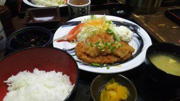2019/07/10は藩でおろしとんかつ定食