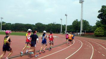 2019/07/03の颯走塾水曜マラソン練習会in織田フィールド4