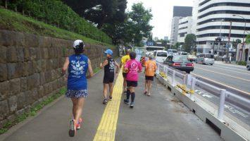 2019/07/10の颯走塾水曜マラソン練習会in東宮1