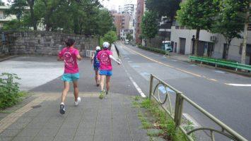 2019/07/10の颯走塾水曜マラソン練習会in東宮6