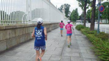 2019/07/10の颯走塾水曜マラソン練習会in東宮7