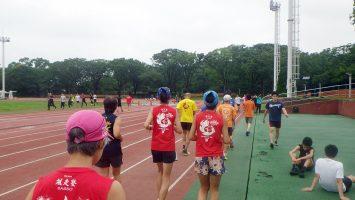 2019/07/17の颯走塾水曜マラソン練習会in織田フィールド2