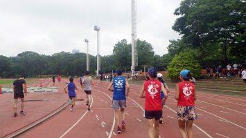 2019/07/17の颯走塾水曜マラソン練習会in織田フィールド4