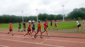 2019/07/17の颯走塾水曜マラソン練習会in織田フィールド7
