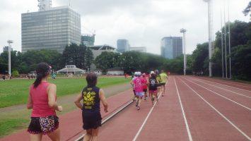 2019/07/24の颯走塾水曜マラソン練習会in織田フィールド2