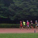 2019/07/24の颯走塾水曜マラソン練習会in織田フィールド7