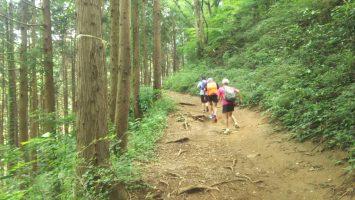 2019/07/31の颯走塾高尾山ビアマウントを目指す旅8