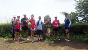2019/07/31の颯走塾高尾山ビアマウントを目指す旅7