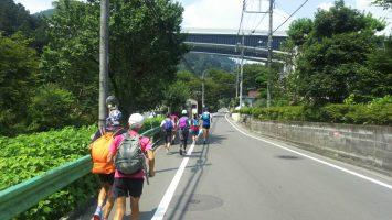 2019/07/31の颯走塾高尾山ビアマウントを目指す旅4