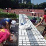 2019/08/07の颯走塾水曜マラソン練習会in織田フィールド2