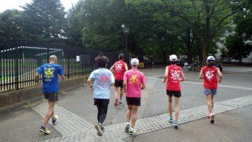 2019/08/21の颯走塾水曜マラソン練習会in織田フィールド1