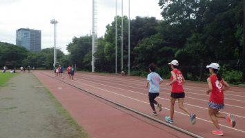 2019/08/21の颯走塾水曜マラソン練習会in織田フィールド4