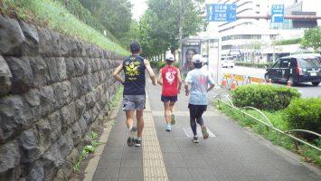 2019/08/28の颯走塾水曜マラソン練習会in東宮2