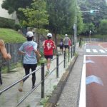 2019/08/28の颯走塾水曜マラソン練習会in東宮3