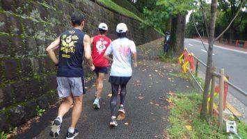 2019/08/28の颯走塾水曜マラソン練習会in東宮6