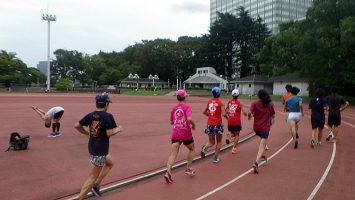 2019/09/18の颯走塾水曜マラソン練習会in織田フィールド2