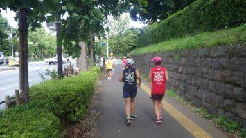 2019/09/25の颯走塾水曜マラソン練習会in東宮1