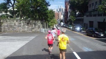 2019/09/25の颯走塾水曜マラソン練習会in東宮6
