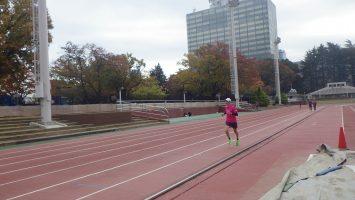 2019/11/13の颯走塾水曜マラソン練習会in織田フィールド6