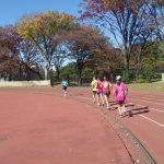 2019/11/20の颯走塾水曜マラソン練習会in織田フィールド2