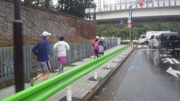 2019/11/27の颯走塾水曜マラソン練習会in赤坂御所3
