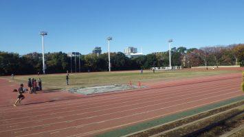 2019/12/04の颯走塾水曜マラソン練習会in織田フィールド1