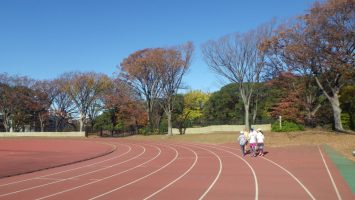2019/12/04の颯走塾水曜マラソン練習会in織田フィールド2