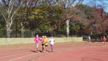 2019/12/04の颯走塾水曜マラソン練習会in織田フィールド4