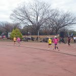 2019/12/18の颯走塾水曜マラソン練習会in織田フィールド6
