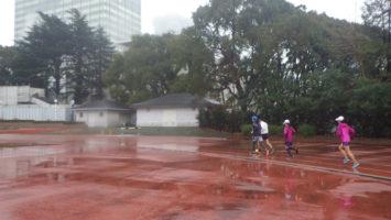 2020/01/08の颯走塾水曜マラソン練習会in織田フィールド2