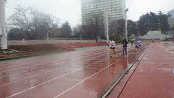 2020/01/08の颯走塾水曜マラソン練習会in織田フィールド4