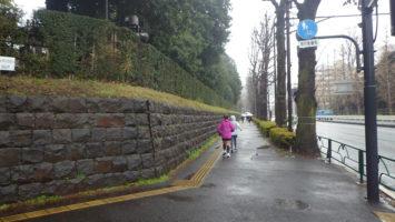 2020/01/15の颯走塾水曜マラソン練習会in赤坂御所2