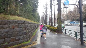 2020/01/15の颯走塾水曜マラソン練習会in赤坂御所3