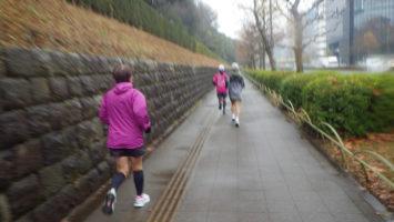 2020/01/15の颯走塾水曜マラソン練習会in赤坂御所4
