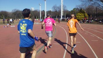2020/02/05の颯走塾水曜マラソン練習会in織田フィールド2