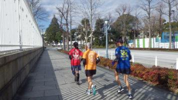 2020/02/19の颯走塾水曜マラソン練習会in赤坂御所3